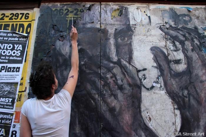 chloe tiravy pinture painter pintor artista francesa french france francia murales entrevista interviewstreet art buenos aires buenosairesstreetart.com