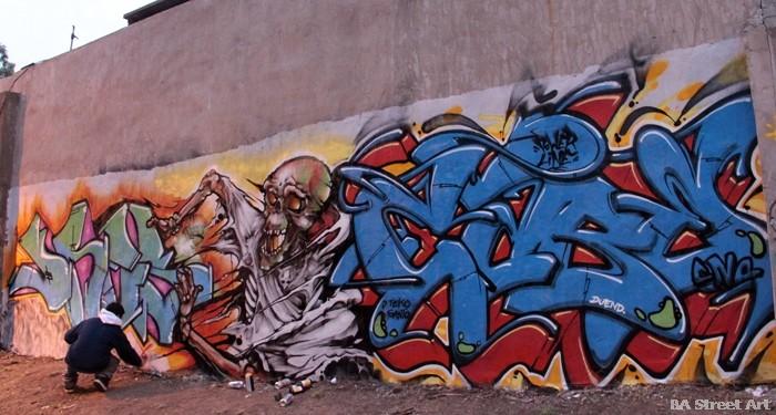 tres dame cabe graffiti san martin buenosairesstreetart.com