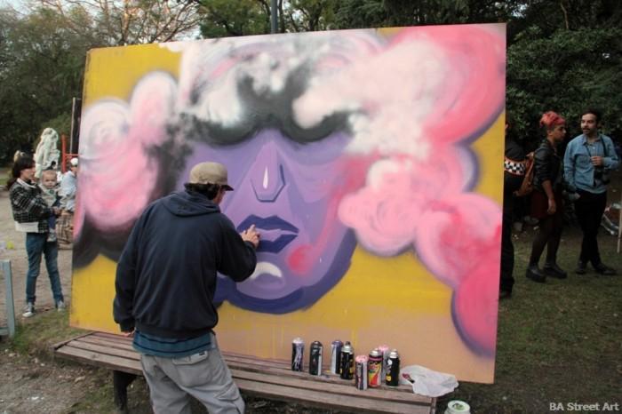 buenos aires graffiti tour aerosol festival la plata buenosairesstreetart.com