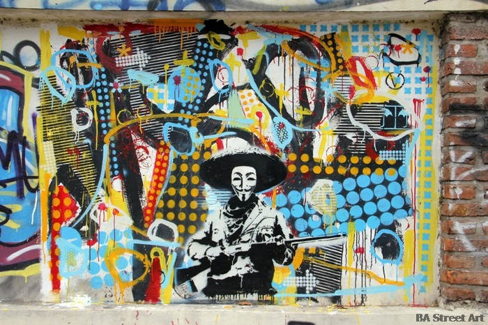 cabaio stencil buenos aires street art buenosairesstreetart.com
