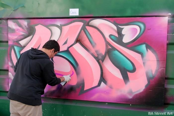 caos graffiti buenos aires street art buenosairesstreetart.com