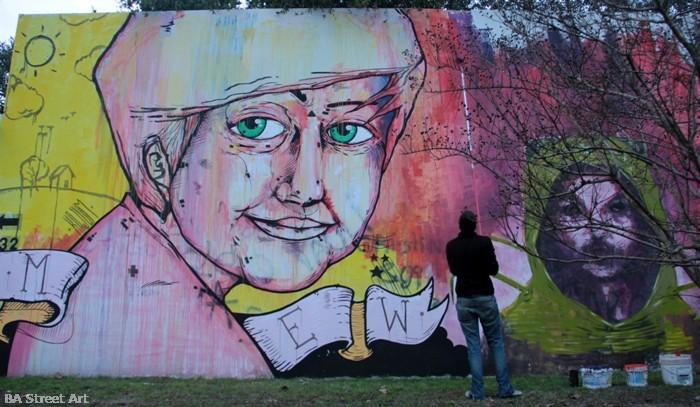 maria elena walsh retrato buenos aires la plata santiago elefante buenos aires street art buenosairestreetart.com