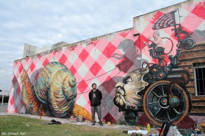 martin ron muralista martin worich street art buenos aires buenosairesstreetart.com BA Street Art