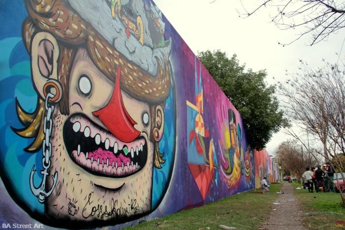 graffiti tour buenos aires la plata street art giant wall murales buenosairestreetart.com