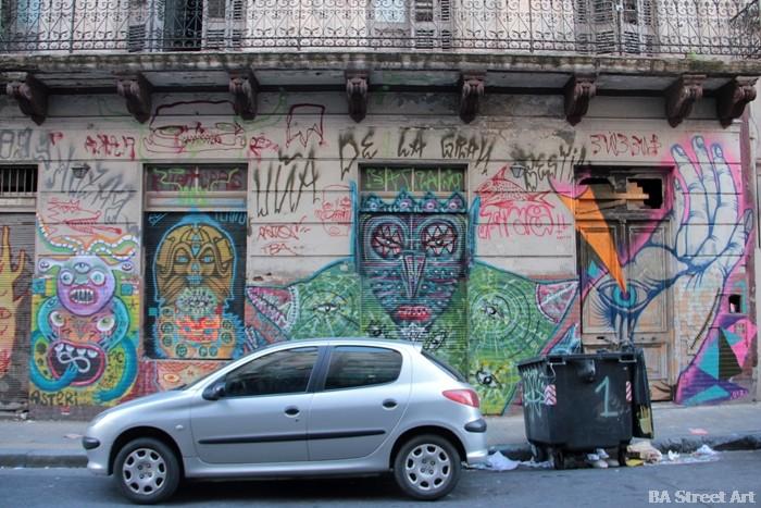 murales san telmo buenos aires graffiti buenosairesstreetart.com
