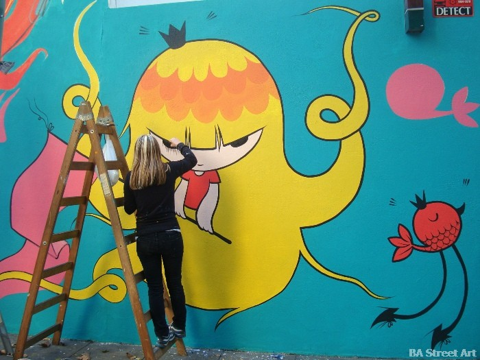 pum pum artista buenos aires street art buenosairesstreetart.com BA Street Art
