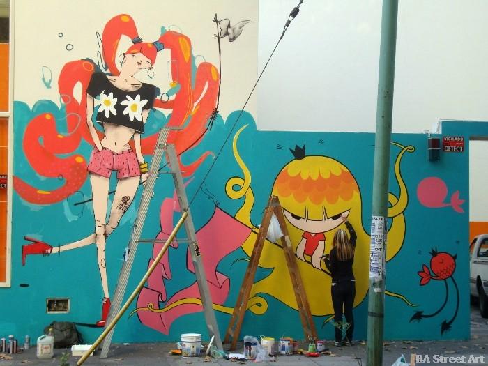 pum pum buenos aires street art murales buenosairesstreetart.com BA Street Art Tours