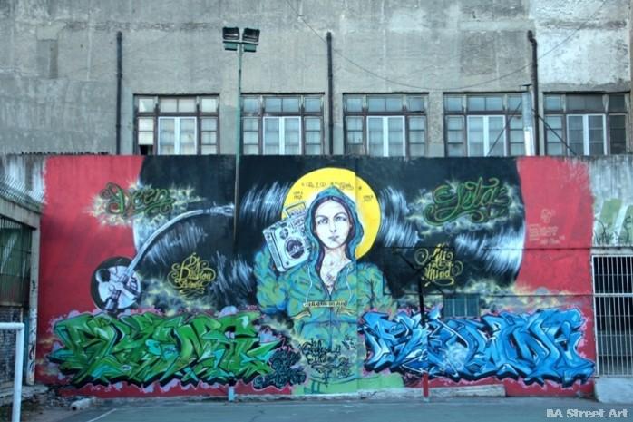 seta fuerte graffiti tour buenos aires street art colombia rap ali buenosairesstreetart.com