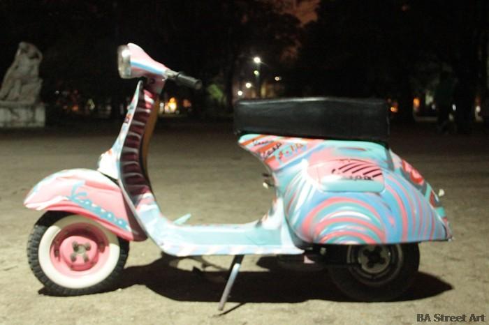 vespa graffiti buenos aires street art la plata buenosairesstreetart.com