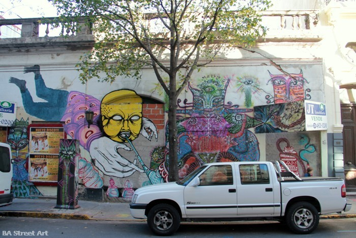 buenos aires graffiti tour ant telmo ene ene malegria buenosairesstreetart.com BA Street Art
