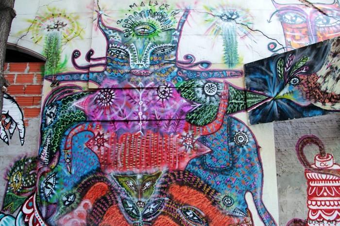 buenos aires graffiti tour ene ene malegria buenosairesstreetart.com BA Street Art (5)
