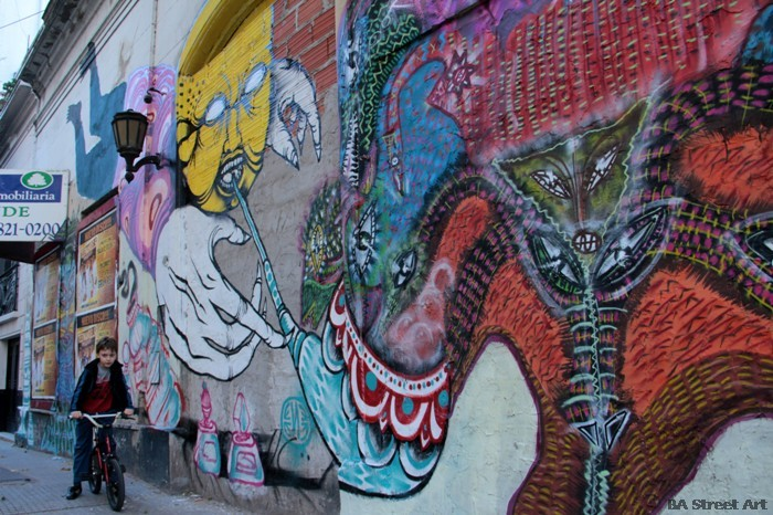 buenos aires graffiti tour ene ene malegria buenosairesstreetart.com BA Street Art
