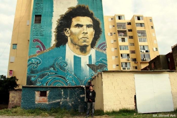 carlos tevez graffiti martin ron interview BA Street Art buenos aires street art buenosairesstreetart.com