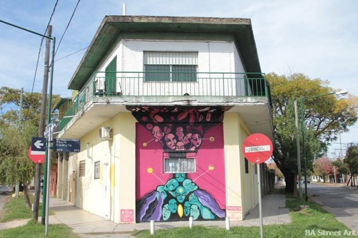 carolina favale cuore artista boulogne buenos aires street art