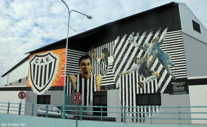 club atletico estudiantes caseros martin ron nieves fraga mural buenos aires buenosairesstreetart.com