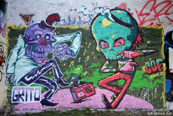 graffiti tour buenos aires cof buenosairesstreetart.com BA Street Art