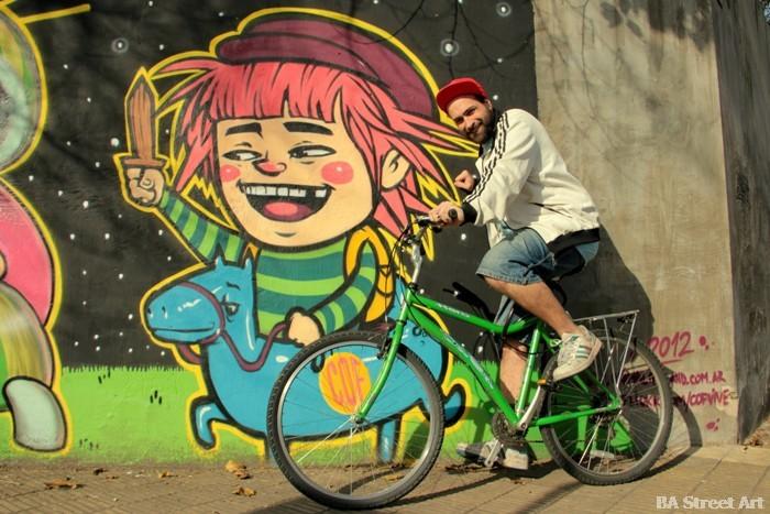 cof graffiti tour buenos aires street art buenosairesstreetart.com