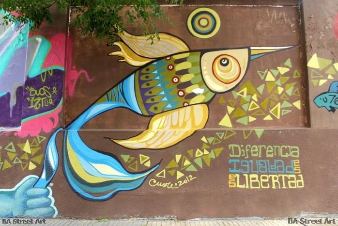 cuore buenos aires street art mural buenosairesstreetart.com BA Street Art Tours Pirovano Pinta Bien