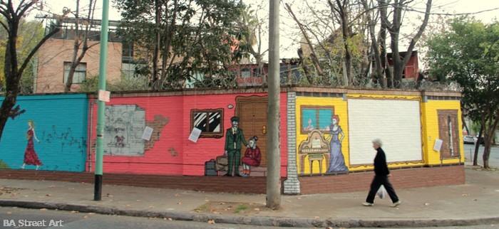 bestuario julio cortazar mural buenosairesstreetart.com BA Street Art