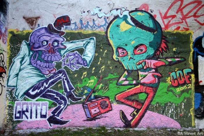graffiti buenos aires cof buenosairesstreetart.com BA Street Art