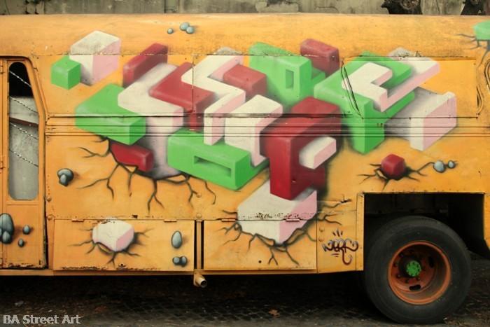 graffiti buenos aires nerf cubes shapes street art  buenosairesstreetart.com