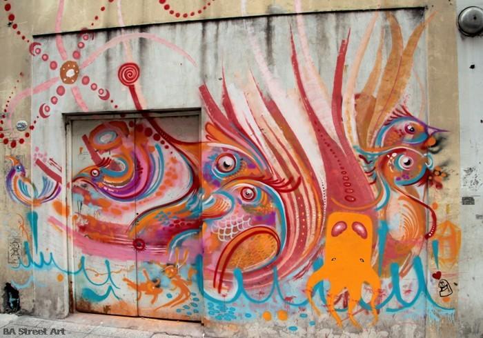 graffiti buenos aires street art nice naranja buenosairesstreetart.com