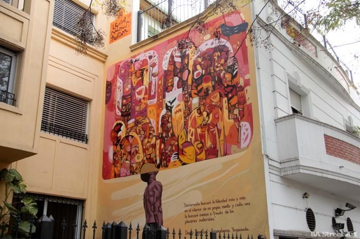 graffiti tour buenos aires BA Street Art triangulo dorado murales buenosairesstreetart.com