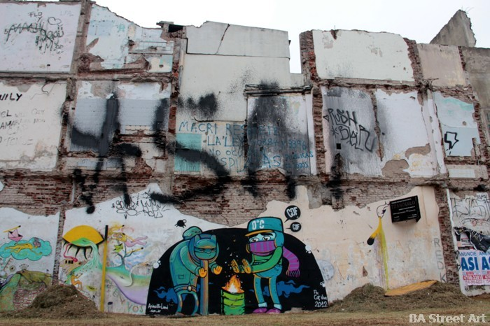 graffiti tour buenos aires street art cof animalito land buenosairesstreetart.com BA Street Art Tours