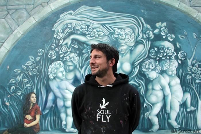 martin ron artista muralista murales buenos aires tres de febrero buenosairesstreetart.com BA Street Art