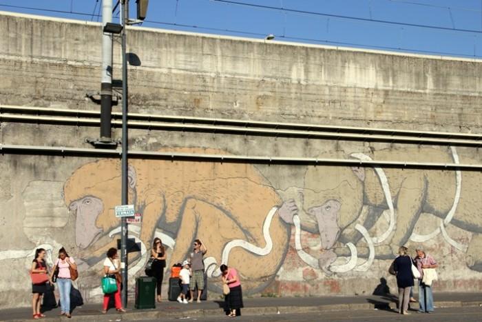 ericailcane mural blu milan itallia buenos aires street art tour buenossairesstreetart.com