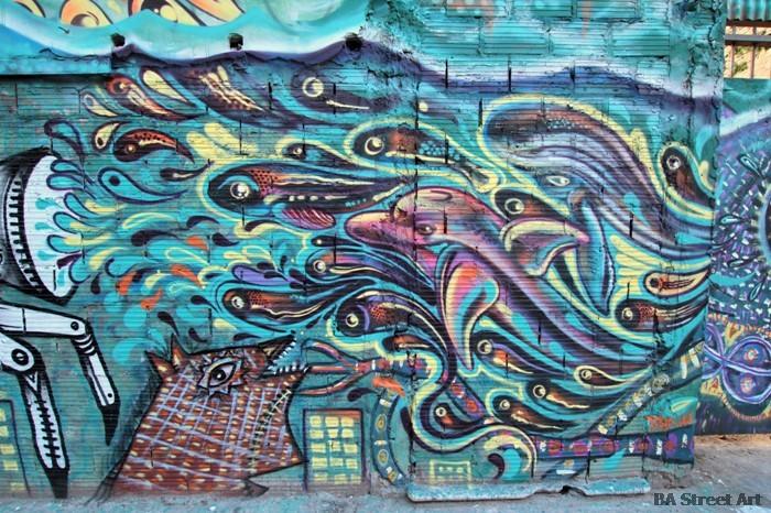 dolphin graffiti buenos aires atun delfin tuna street art ene ene malegria nice buenosairesstreetart.com