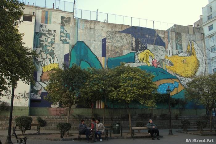 dotz blabla buto graffiti san telmo street art buenos aires graffiti buenosairesstreetart.com