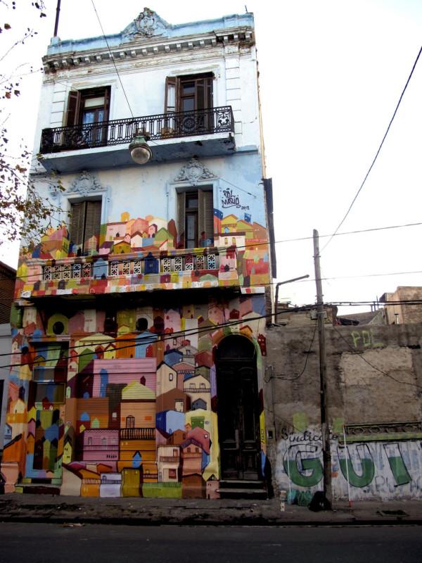 street art la boca buenos aires argentina corona mario buenosairesstreetart.com