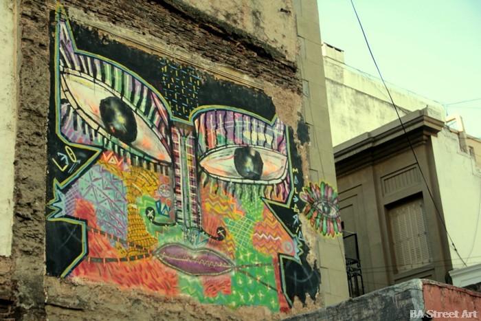 graffiti san telmo buenos aires buenosairesstreetart.com
