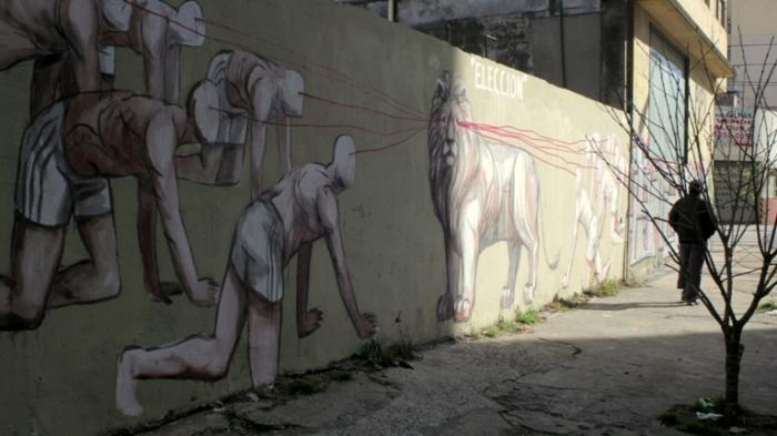 jaz street artista buenos aires eleccion mural buenosairesstreetart.com BA Street Art