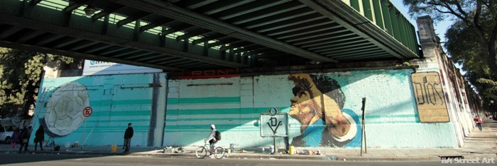 maradona mural buenos aires lean frizzera martin ron emy mariani buenos aires street art tour buenosairesstreetart.com