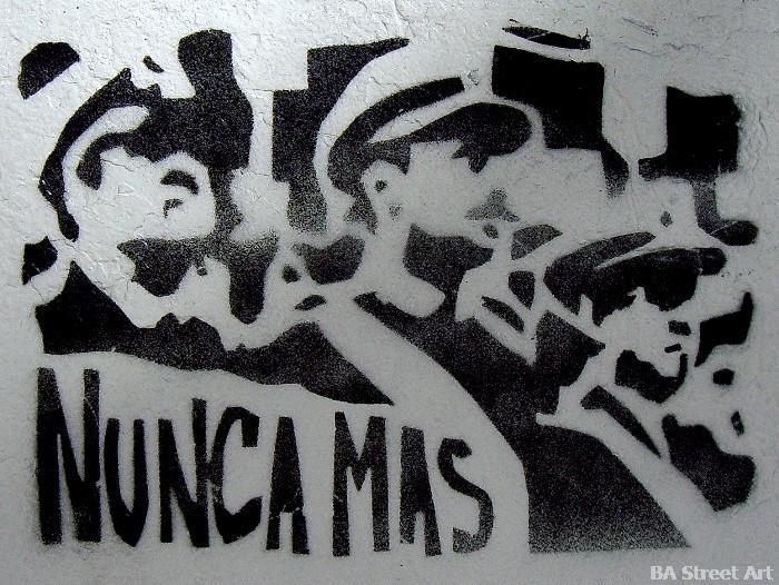 videla bignone dictadura argentina graffiti buenos aires dictatorship buenosairesstreetart.com