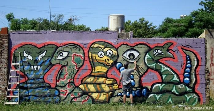 quilmes graffiti grolou buenos aires street art tour buenosairesstreetart.co