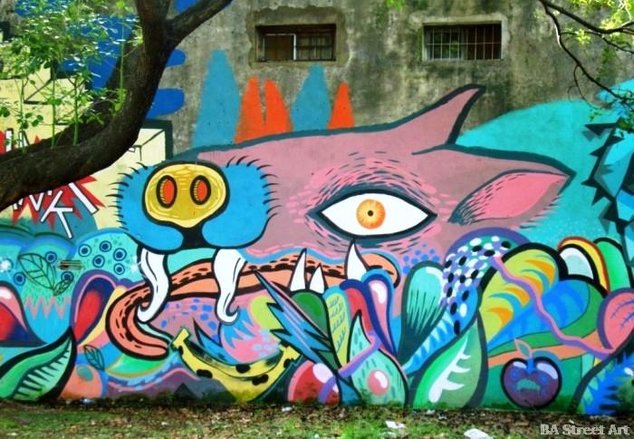 Grolou artista quilmes buenos aires graffiti tour buenosairesstreetart.com