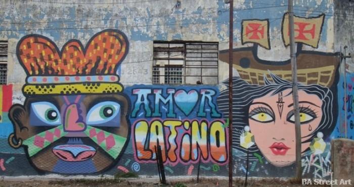 Grolou artista quilmes Blu Shei Wei buenos aires graffiti tour street art buenosairesstreetart.com
