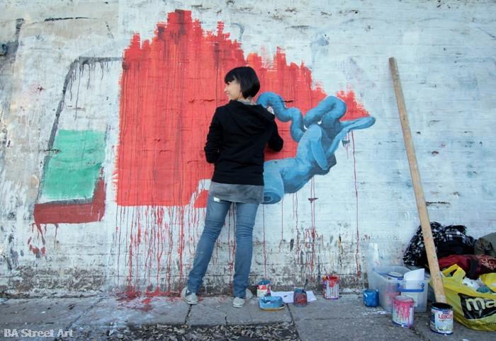 anita messina artista buenos aires murales street art buenosairesstreetart.com