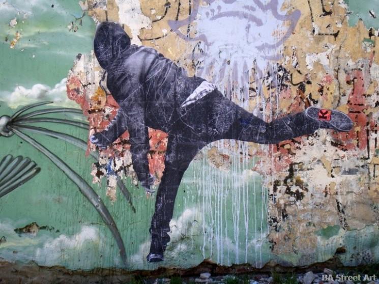 graffiti tour buenos aires buenosairesstreetart.com  Ktrl V arte callejero paste up pegatines