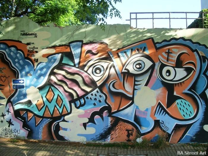 Quilmes artista grolou interview Gumy y Blu Shei Wei buenos aires graffiti