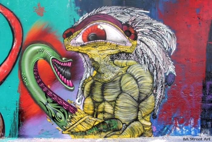 cyclops graffiti buenos aires street art argentina bater thundercats buenosairesstreetart.com