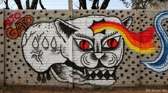 grolou arte callejero buenos aires street art cat artista frances buenosairesstreetart.com