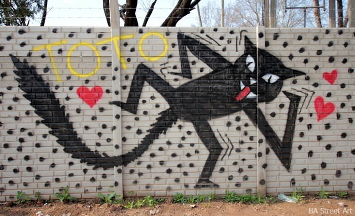 grolou graffiti quilmes street art gato buenos aires artista buenosairesstreetart.com