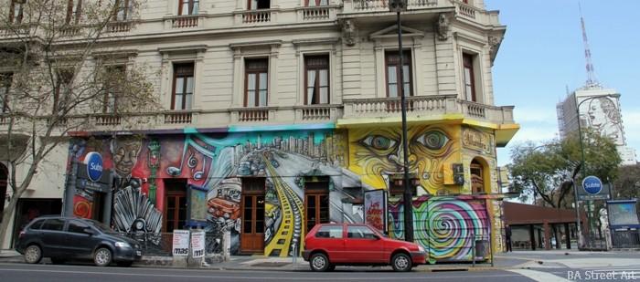 astor piazzolla tango argentina buenos aires mural alfredo segatori muralista street art buenosairesstreetart.com