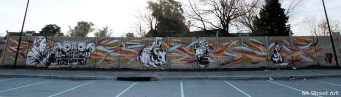 run dont walk street art argentina buenos aires street art tecnopolis buenosairesstreetart.com