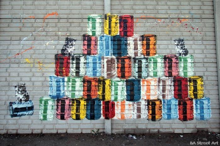 stencil land street artist argentina buenos aires street art tecnopolis buenosairesstreetart.com