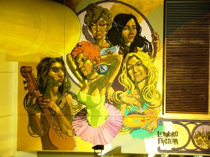 subte hospitales linea H murales buenos aires leandro frizzera street art buenosairesstreetart.com